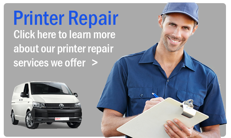 Printer repair techncian banner