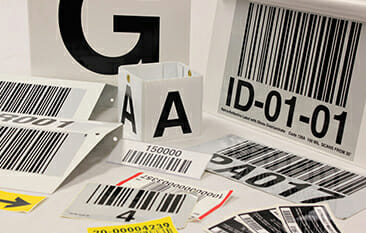 warehouse labels & signage